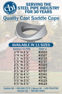 Saddle Cap Pipe Fencing Weldable Saddle Caps